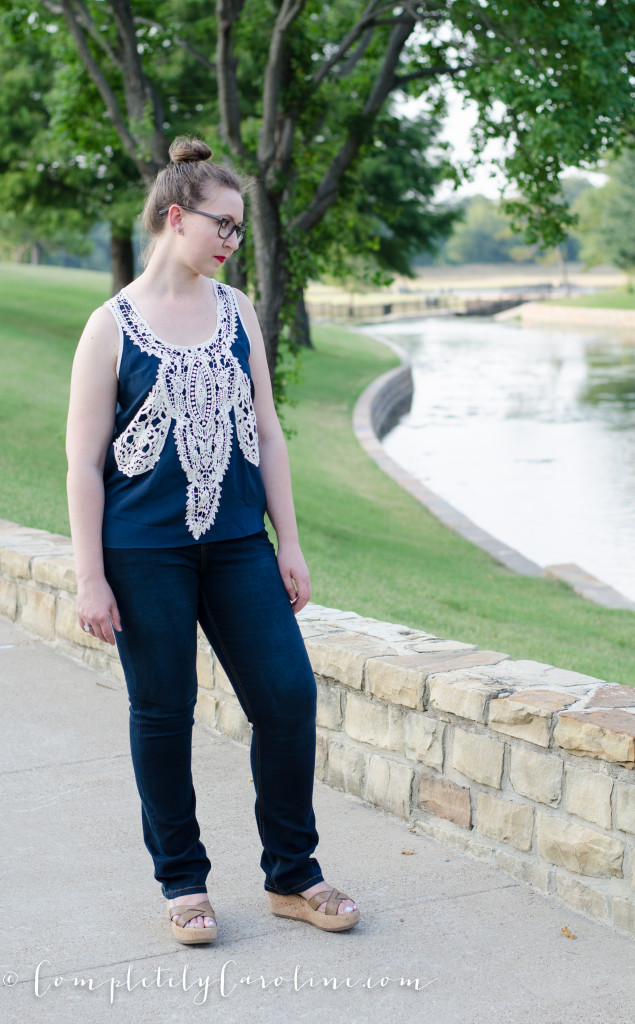 Ilean Crochet Sleeveless Blouse (1 of 1)