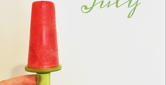 July popsicle